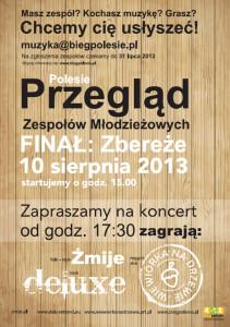 Polesie-plakat przeglad zespołow